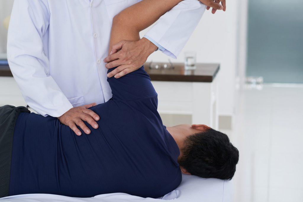 Professional spine adjustment